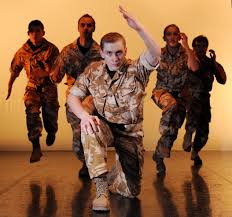Soldiers Show Off Their Best Dance Moves!
