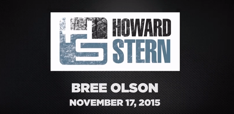 Bree Olson On The Howard Stern Show