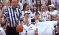 Now This Is How You Distract Someone Shooting A Free Throw