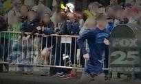 Here are the Photos of The Boston Bomber Dropping the Bomb