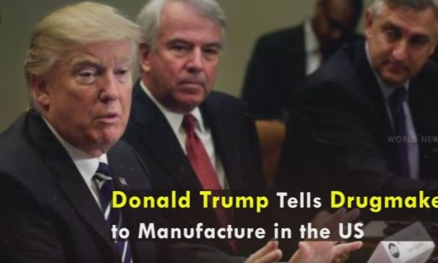 Trump Meets With Drugmakers, Wants Prices To Go Down and Manufacturing in US