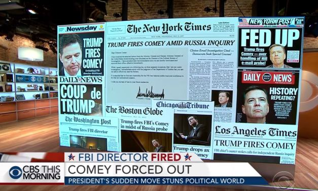 Trump Fires FBI Director James Comey Amid Russia Investigation