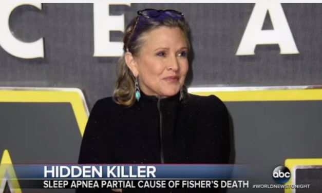Carrie Fisher's Death Was Mainly Caused By Sleep Apnea