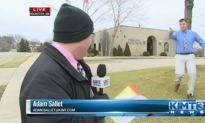 TV Station Reporting Live When Minnesota Bank Robbed Again