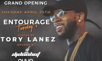 """Envie, Miami Beach's Hottest Newest Nightclub, is Having its Grand Opening, """"Entourage Tuesdays"""" on 4/25 featuring Hospitality Expert & Nightclub Partner Ali Nassiri and Rapper Tory Lanez!"""