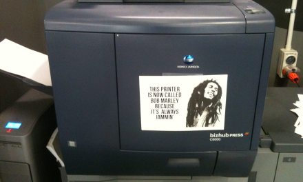 Went To Use The Chronicle Office Printer Today, This Is What I Found