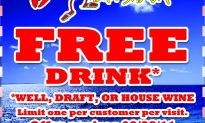 Get a FREE Drink at Lulu's Bait Shack in Fort Lauderdale