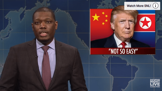 SNL Weekend Update – Failed North Korean Missile Launch