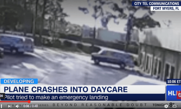 Airplane Crashes Into Daycare Center