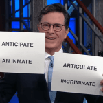 "Colbert Recreates Kellyanne Conway's ""Fun With Words"""