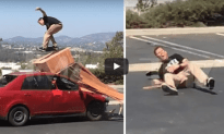 Ding Dong Steve O Shatters His Ankle During High Risk Skateboard Trick