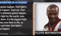 The Floyd Mayweather and Manny Pacquiao Fight is Going to Happen!