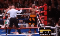 The Infamous Floyd Mayweather Cheap Shot