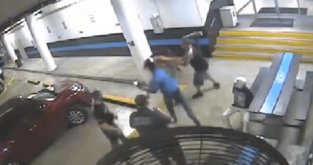 Miami Police Officer Punches Handcuffed Woman in the Face