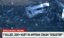Seven Killed and Over 200 Injured in Amtrak Crash