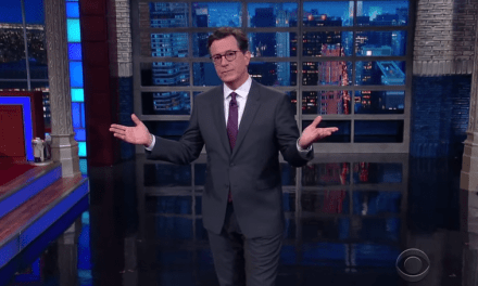 Colbert Gives His Take On Kid Rock's Potential Run For Senator