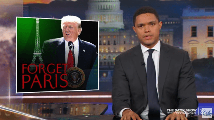 Trump Tells Earth to Go F**k Itself – The Daily Show