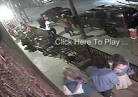 """Surveillance Cam Catches Adam """"Pacman"""" Jones Punching a Woman in the Face"""