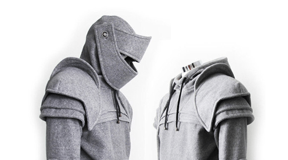 Someone Buy Me This Suit of Armor Hoodie!