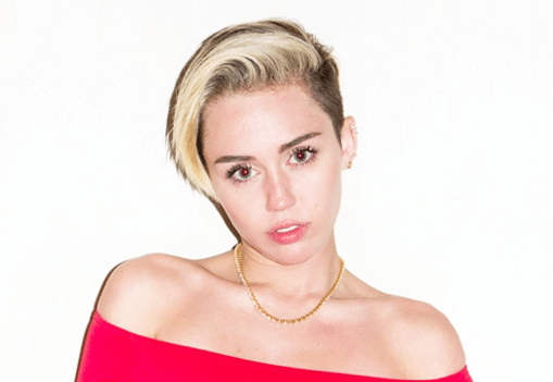Miley Cyrus Goes Topless [NSFW]