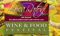 It's the Boca Food And Wine Festival All Weekend Long!