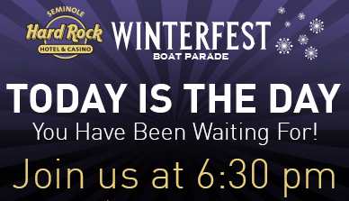 Buy Tickets For The Winterfest Boat Parade All Day Today at Bennett Auto Supply!