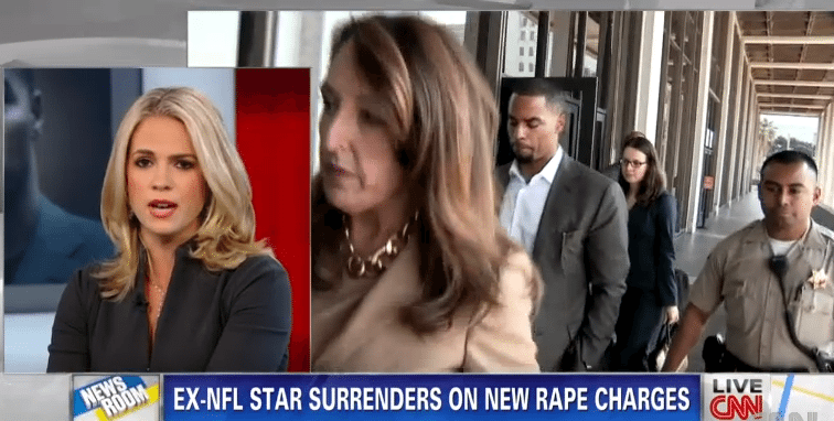 Ex-NFL Player Surrenders To Rape Allegations