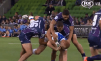 Rugby Player Breaks His Neck