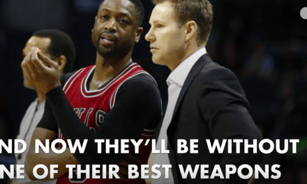 Dwayne Wade Out For Rest Of Regular Season With Fractured Elbow