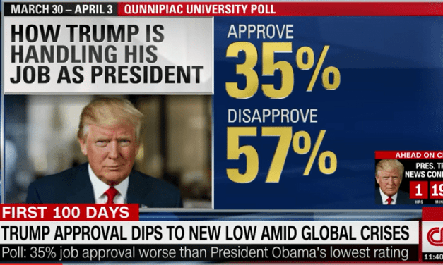 Trump's Approval Rating Continues To Decline