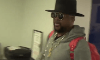 Terius Youngdell Nash Looking Stylish in Lax Airport