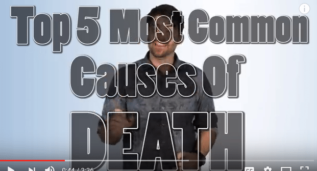 The Top Five Most Common Causes of Death!