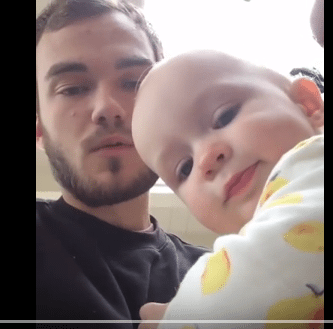 Uncle Teaches Niece to Beat Box!