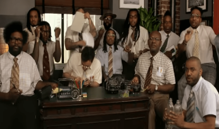 Migos Perform 'Bad And Boujee' With Jimmy Fallon and The Roots