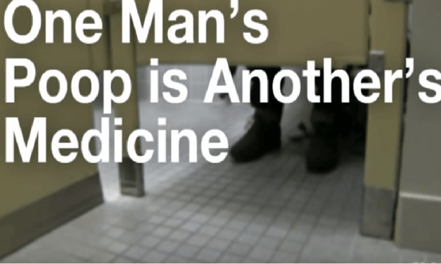 A Man With The Perfect Poop