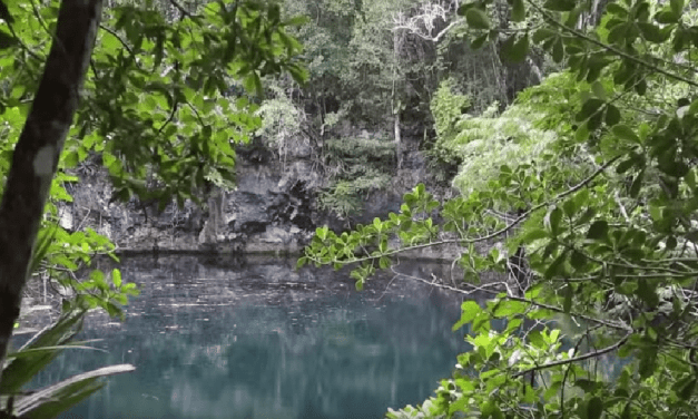 Man Discovers Underwater River In Mexico