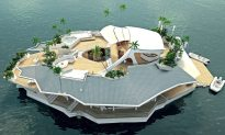 Someone Get The Kid This Awesome Island Boat!