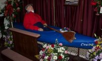 WOULD YOU PUT YOUR DEAD GRANDFATHER IN A KAYAK FOR THE FUNERAL? SOMEBODY DID.