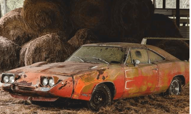 A Vintage 1969 Dodge Charger Was Found