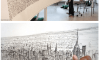 Autistic Artist Stephen Wiltshire Draws Spellbinding 18ft Picture Of New York