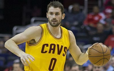Watch all of Kevin Love's 34 first-quarter points against the Blazers