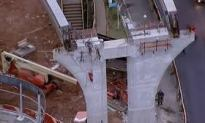 Monorail in Brazil Collapses days Before World Cup Starts