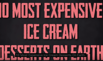 10 Most Expensive Ice Cream Desserts