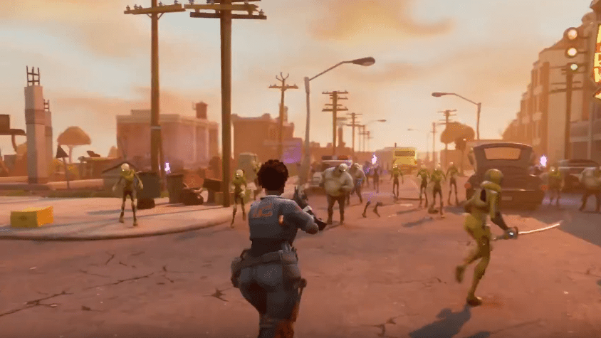 Fortnite Launch Trailer, Err… Early Access Launch Trailer?