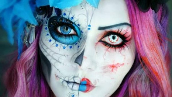 Crazy Scary Halloween Make Up Ideas