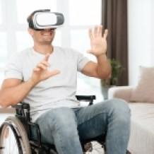 vr wheelchair