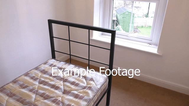 example bedroom footage
