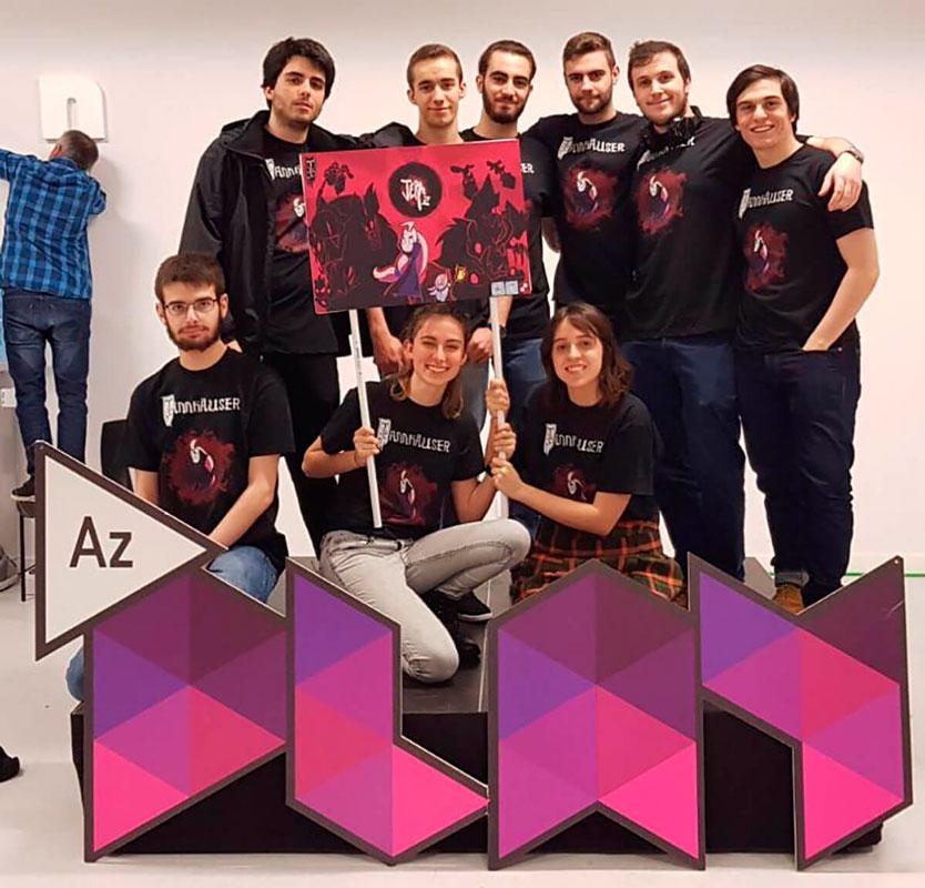 Los alumnos de DigiPen Bilbao llevaron un prototipo de Jera a la exposición de videojuegos organizado por AzPlay en 2017
