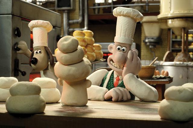 Wallace & Gromit Top Bun