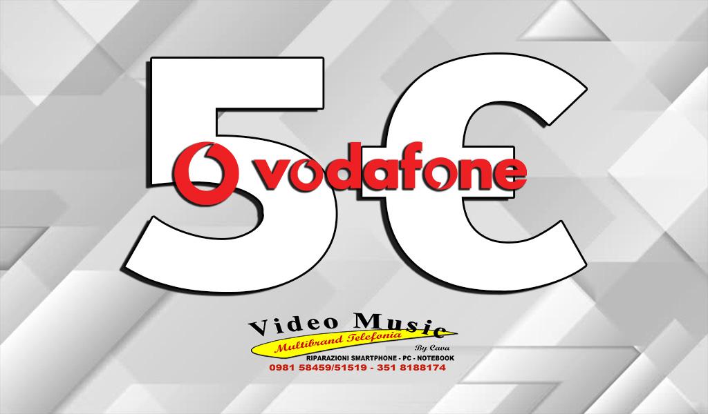 Prova Vodafone le nuove promozioni a 5€ tutto incluso